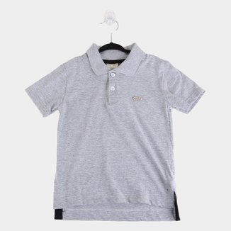 Camisa Polo Bebê Milon Básica Lisa Masculina