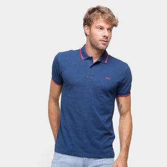 Camisa Polo Colcci Frisos Masculina