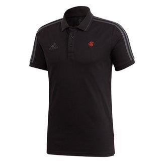 Camisa Polo Flamengo 20/21 Adidas 3Stripes Masculina