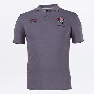 Camisa Polo Fluminense Viagem 20/21 Umbro Masculina