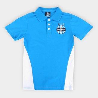 Camisa Polo Infantil Grêmio