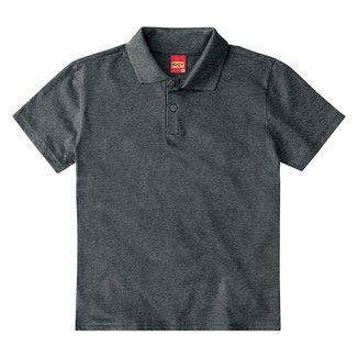 Camisa Polo Infantil Kyly Lisa Masculina