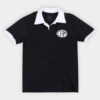 Camisa Polo Juvenil Atlético Mineiro Design Retrô Mania