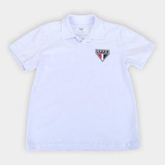Camisa Polo Juvenil São Paulo Retrô Mania