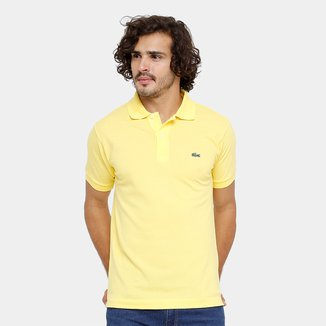 Camisa Polo Lacoste Piquet Original Fit Masculina