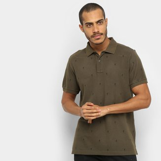 Camisa Polo Osklen Manga Curta Masculina