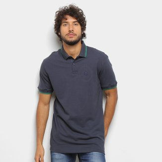 Camisa Polo Polo Wear Friso Básica Masculina
