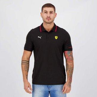 Camisa Polo Puma Ferrari Race Masculina