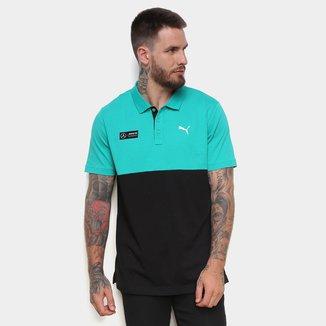 Camisa Polo Puma MAPM 2 Colorblock Masculina