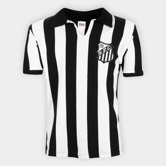 Camisa Polo Retrô Santos 1956 nº 10 Athleta Masculina