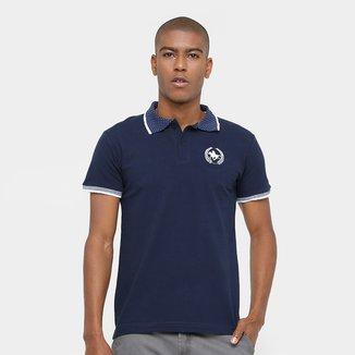 Camisa Polo Rg 518 Gola Poá Masculina