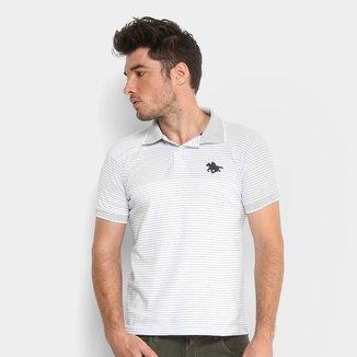 Camisa Polo RG 518 Listrada Fio Tinto Masculina