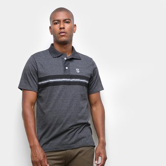 Camisa Polo Suburban Faixa Listra Masculina