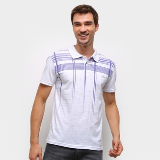 Camisa Polo Ultimato Estampada Manga Curta Masculina