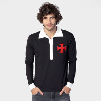 Camisa Polo Vasco Retrô 1923 M/L - Retrô