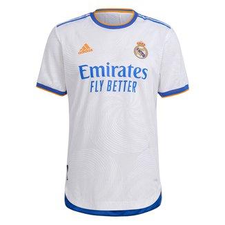 Camisa Real Madrid Home 21/22 s/n° Jogador Adidas Masculina