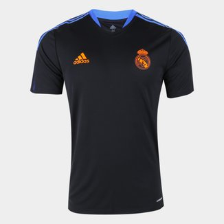 Camisa Real Madrid Treino 21/22 Adidas Masculina