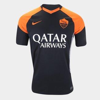 Camisa Roma Third 20/21 s/n° Torcedor Nike Masculina