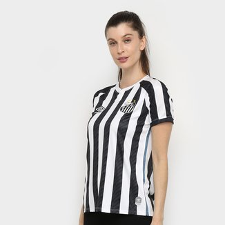 Camisa Santos II 20/21 s/n° Torcedor Umbro Feminina