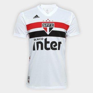Camisa São Paulo I 19/20 s/n° Torcedor Adidas Masculina