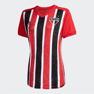 Camisa São Paulo II 20/21 s/nº Torcedor Adidas Feminina
