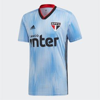 Camisa São Paulo III 19/20 s/n° Torcedor Adidas Masculina