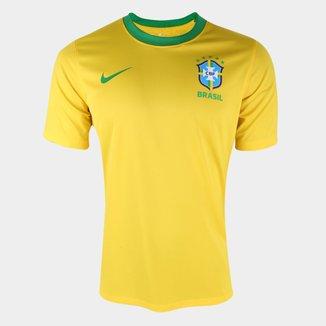 Camisa Seleção Brasil I 20/21 s/n° Estádio Nike Masculina