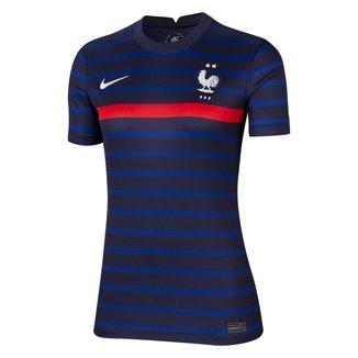 Camisa Seleção França Home 20/21 Torcedor Nike Feminina