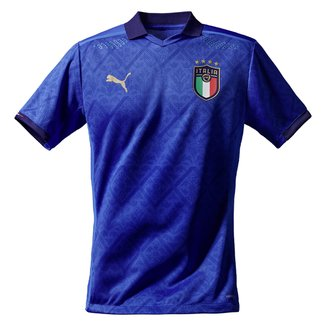 Camisa Seleção Itália Home 20/21 s/nº Torcedor Puma Masculina