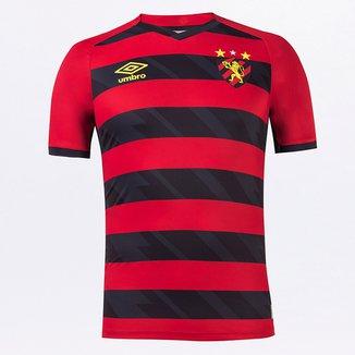 Camisa Sport Recife I 21/22 s/n° Jogador Umbro Masculina