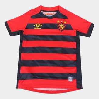 Camisa Sport Recife Juvenil I 21/22 s/n° Torcedor Umbro