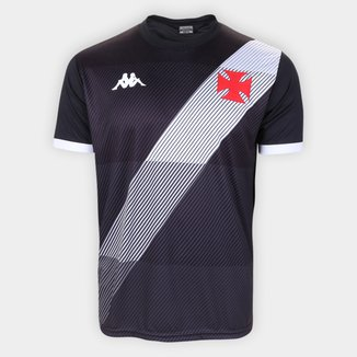 Camisa Vasco da Gama Supporter Diagonal Kappa Masculina