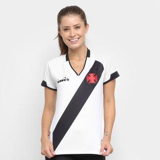 Camisa Vasco II 2020 s/nº Torcedor Diadora Feminina