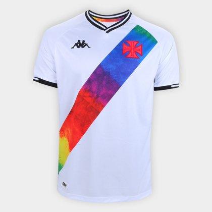Camisa Vasco LGBT Torcedor Kappa Masculina