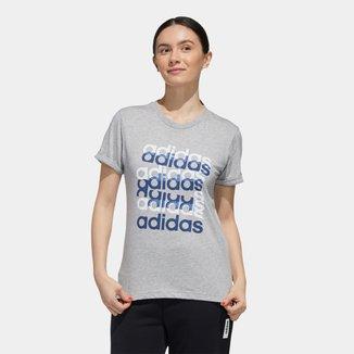 Camiseta Adidas Big Gfx Feminino
