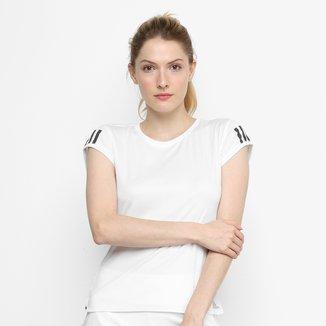 Camiseta Adidas Club 3 Stripes Feminina
