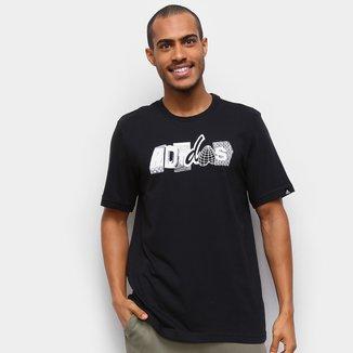 Camiseta Adidas College Masculina