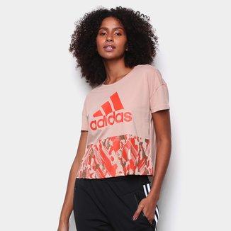 Camiseta Adidas Cropped U-B-U Feminina