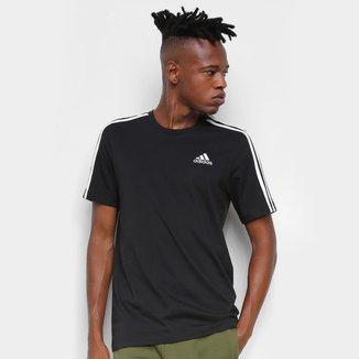 Camiseta Adidas Essentials 3 Listras Masculina