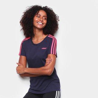Camiseta Adidas Essentials 3S Slim Feminina