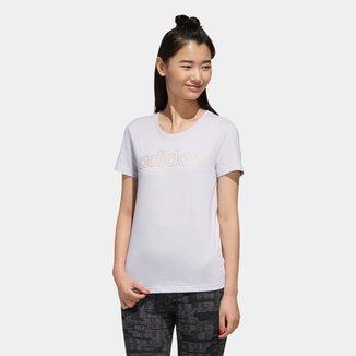 Camiseta Adidas Essentials Branded Slim Feminina