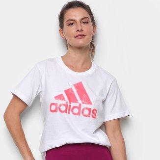 Camiseta Adidas Floral Feminina