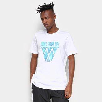 Camiseta Adidas Three Stripe Life Hoops Masculina