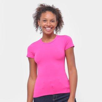 Camiseta Baby Look Malwee Básica Feminina
