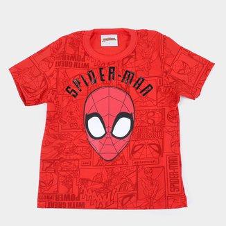 Camiseta Bebê Marvel Spider-Man Masculina