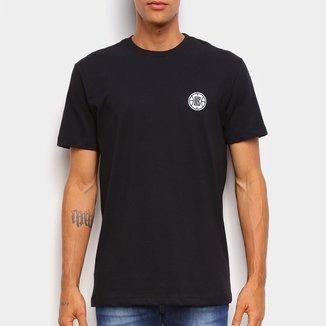 Camiseta Black Pack NBA Los Angeles Clippers New Era Logo Shield Masculina