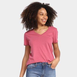 Camiseta Calvin Klein Básica Manga Curta Feminina