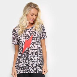 Camiseta Cantão Classic Letras Feminina