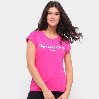Camiseta Coca Cola Pause And Refresh Feminina