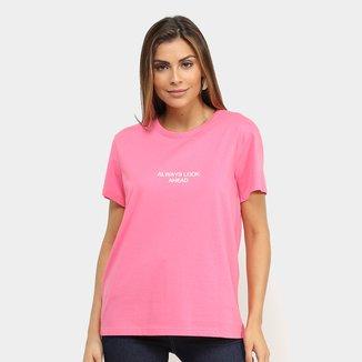 Camiseta Colcci Always Look Ahead Feminina